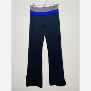 Lululemon Reversible Groove Pants Yoga Size 4